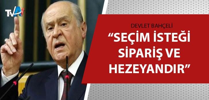 Bahçeli'den Kılıçdaroğlu'na 'erken seçim' yanıtı