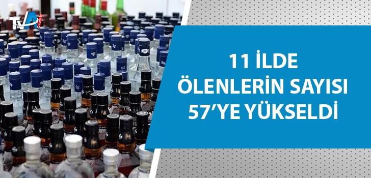 Sahte içkiden ölenlerin sayısı giderek artıyor!