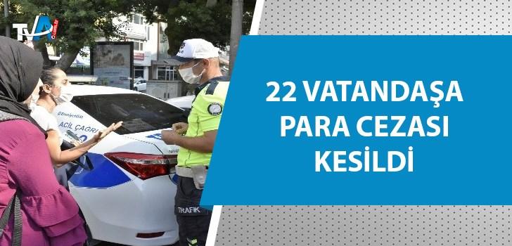 Adana'da  yayalara 'kırmızı ışık' cezası