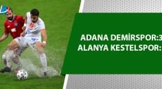 Adana Demirspor üst tura yükseldi