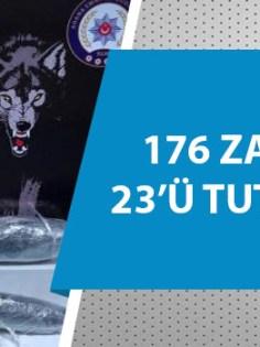 Adana'da uyuşturucu operasyonu!