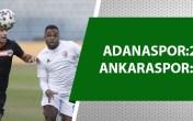 Adanaspor erteleme maçını kazandı!
