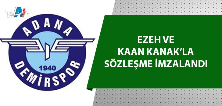 Adana Demirspor'da transferler