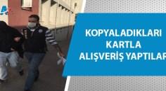 Adana'da kredi kartı dolandırıcılığı!