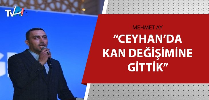AK Parti Ceyhan İlçe Başkanı Sami Özsoy oldu
