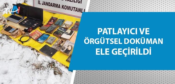 PKK'ya ait sığınağa operasyon!