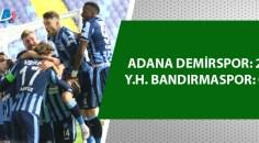 Adana Demirspor 3 puanı aldı