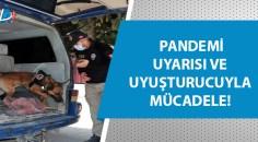 Adana'da polis, okulların çevresinde denetim  yaptı!