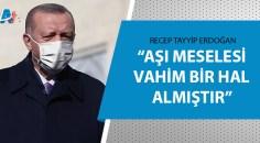 Cumhurbaşkanı Erdoğan'dan BM'ye aşı mesajı!