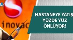 Türkiye, Sinovac aşısının etkinliğini açıkladı!