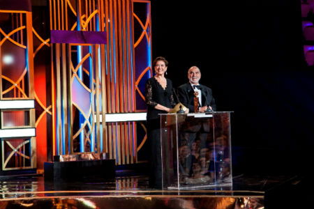 Globo presented with Merit and Excellence Award
