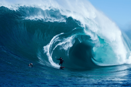 3D network 3net world premieres Storm Surfers