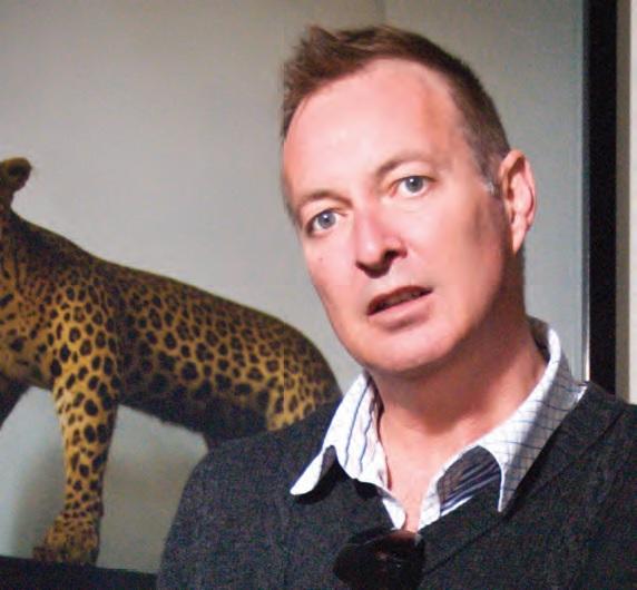 Kiwi channel's Roger Wyllie