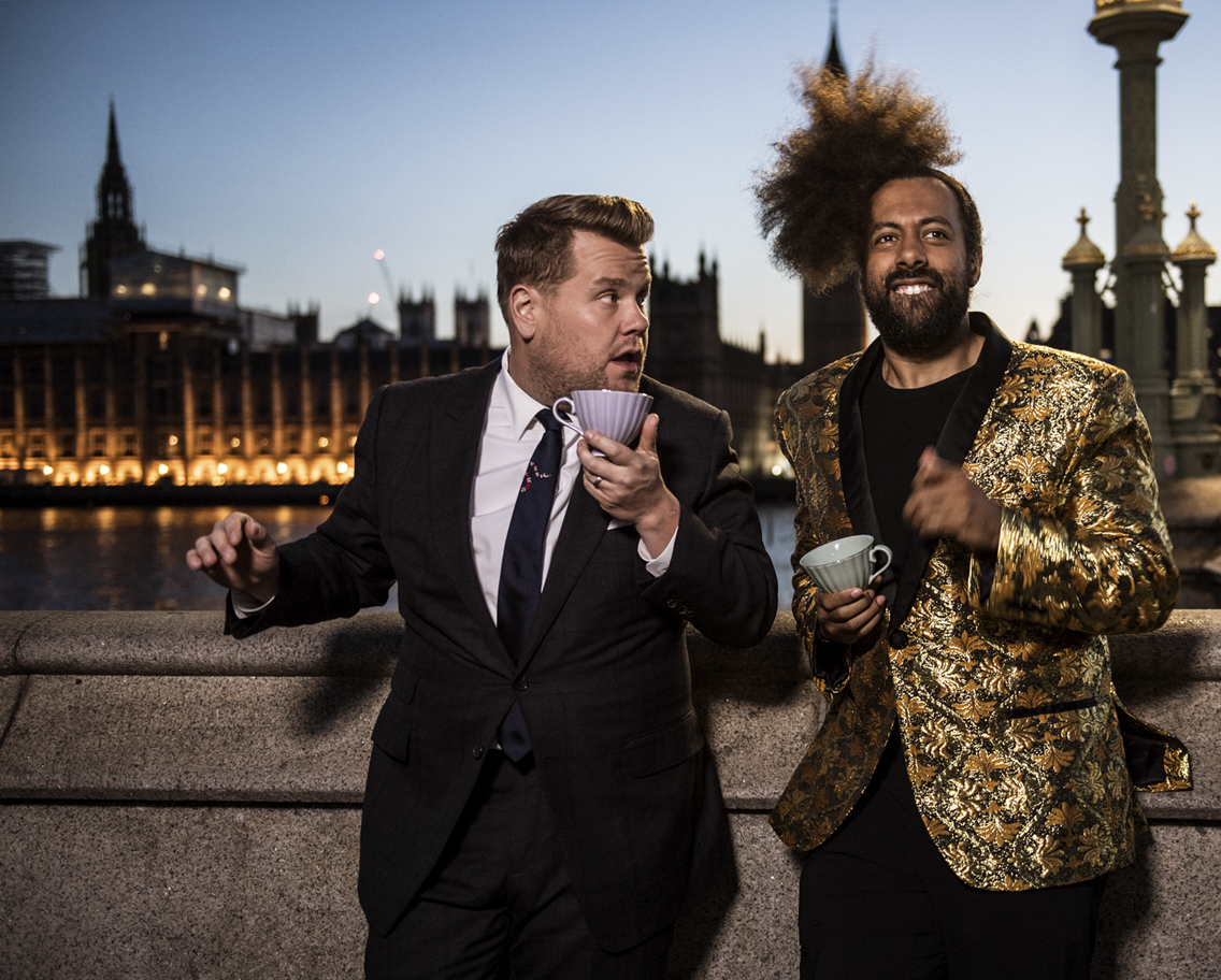 """""""The Late Late Show with James Corden"""" returns to London"""