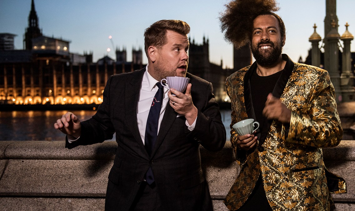 """The Late Late Show with James Corden"" returns to London"