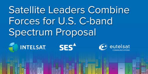 Eutelsat partners with Intelsat and SES for C-band spectrum