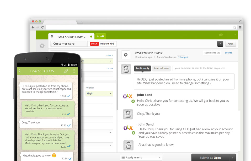 Zendesk launches integration with WhatsApp business solution