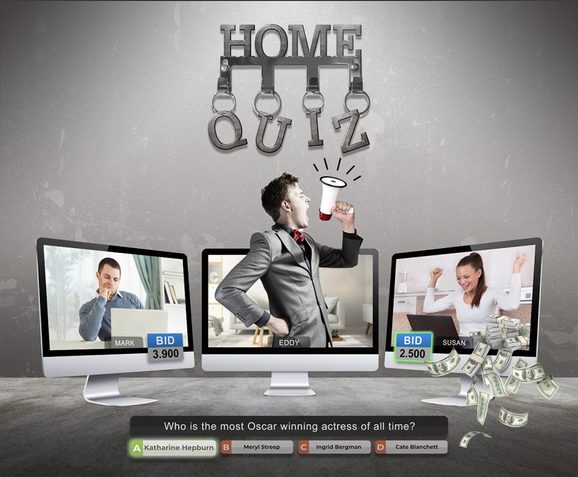 The entertaining game show 'Home Quiz' is now represented by Global Agency