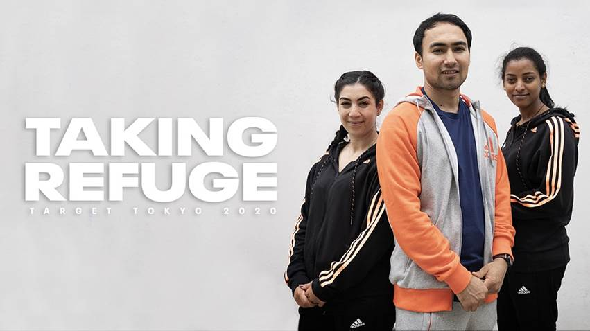 Refugees aim for the Olympic Games in new Olympic Channel original series 'Taking Refuge'