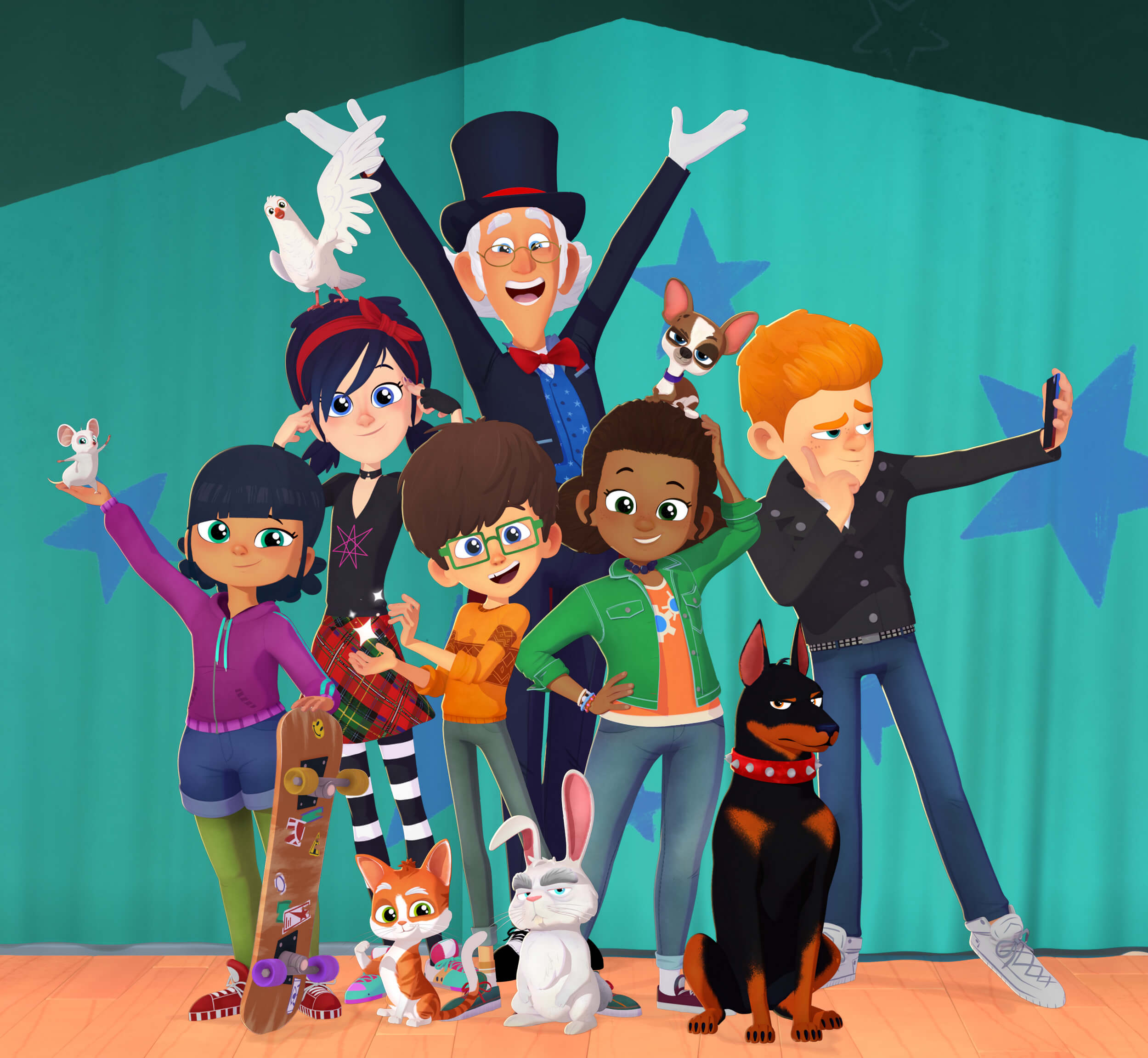 Federation Kids & Family partners with TeamTO on the mesmerising animated comedy 'Presto! School of Magic'