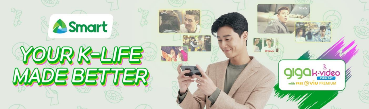 Viu partners with Smart to launch Giga K-Video endorsed by top-tier Korean actor