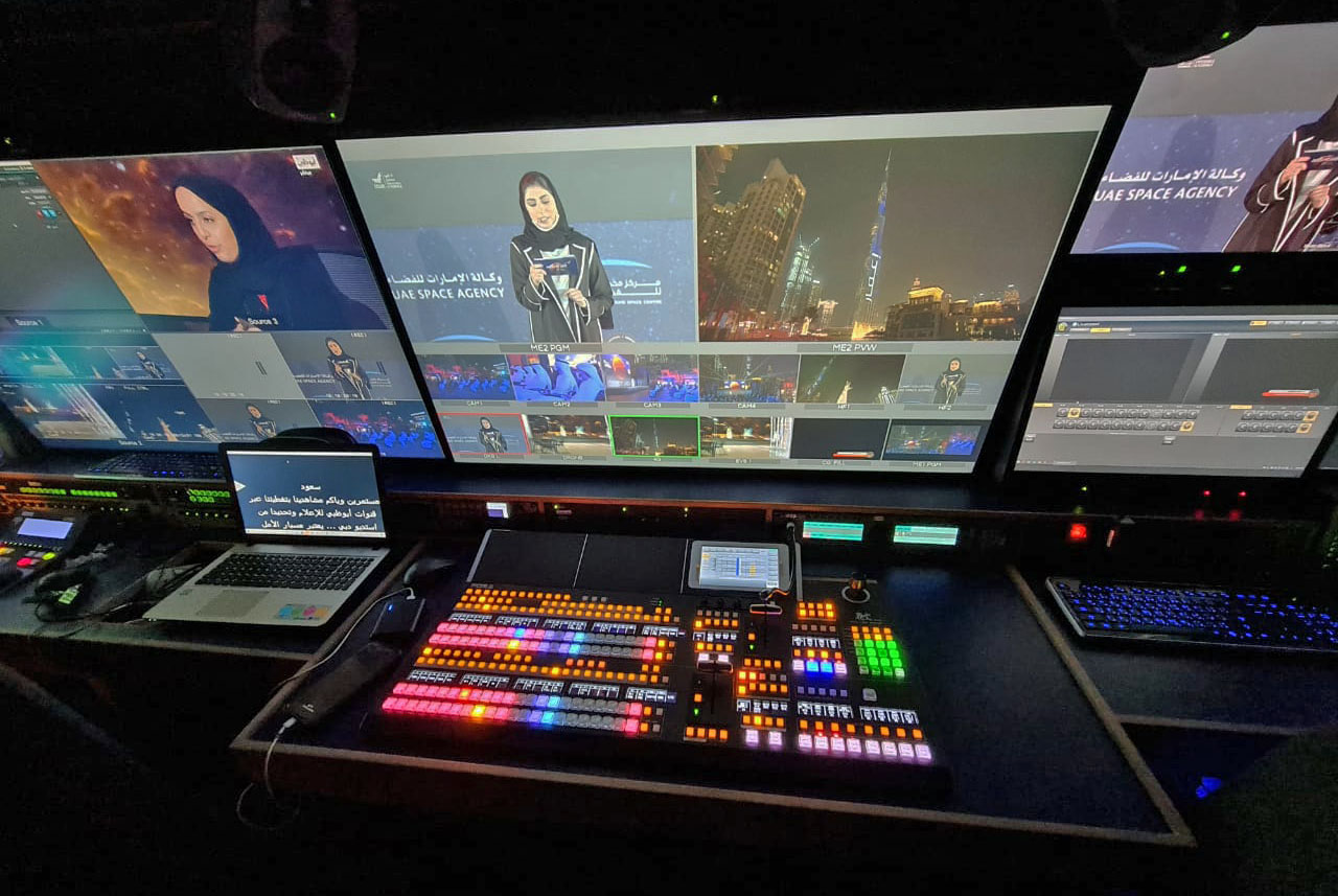 FOR-A switcher drives multi-camera production for new cubic media OB vehicle