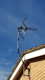 TV Aerials wall mounted