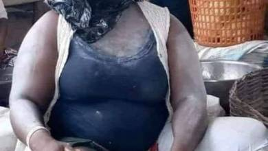 Trending: Nigerian Market Woman Fights Coronavirus in her own way