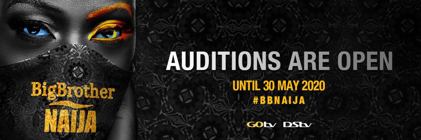 Apply For Big Brother Naija 2020 - Audition closes 30th May