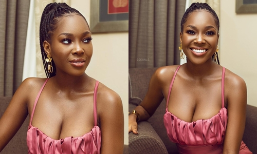 Vee brags as shows massive endowment in new sultry photos
