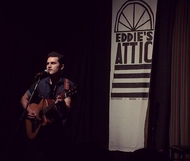 Eddies Attic Table Michael Malarkey Performs At Gig At
