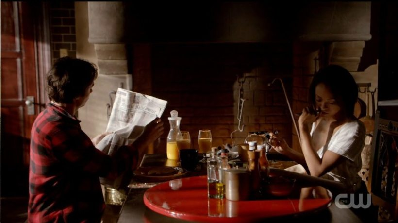 The Vampire Diaries 6x01 Screen Grab Bamon