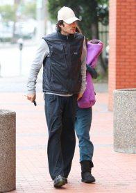 Ian Somerhalder and Nikki Reed YOGA 4