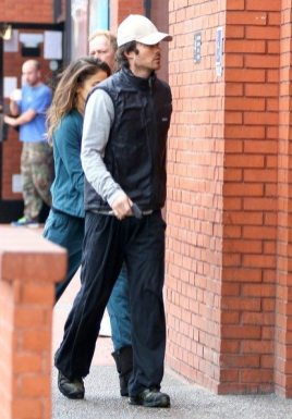 Ian Somerhalder and Nikki Reed YOGA 7