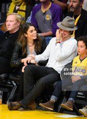 Ian Somerhaler Nikki Reed LA Lakers 14
