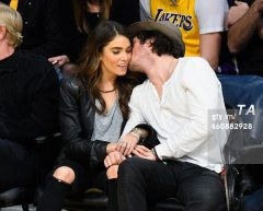 Ian Somerhaler Nikki Reed LA Lakers 8