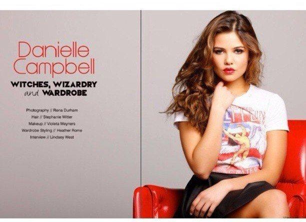 Danielle Campbell LVLTEN Magazine 3