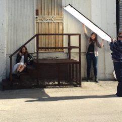 Danielle Campbell LVLTEN Magazine BTS 1