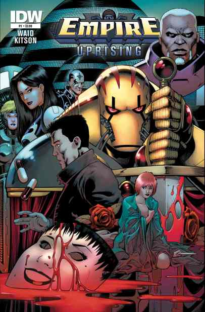 Empire Uprising IDW Comics Mark Waid and Barry Kitson