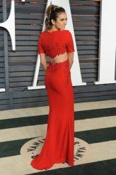 Nina Dobrev 2015 Vanity Fair Oscar Party 12