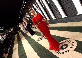Nina Dobrev 2015 Vanity Fair Oscar Party 3