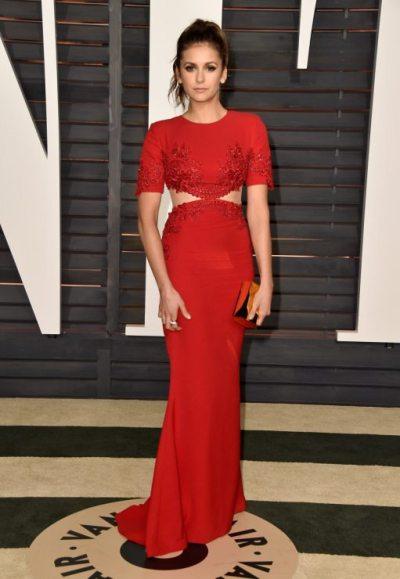 Nina Dobrev 2015 Vanity Fair Oscar Party 5