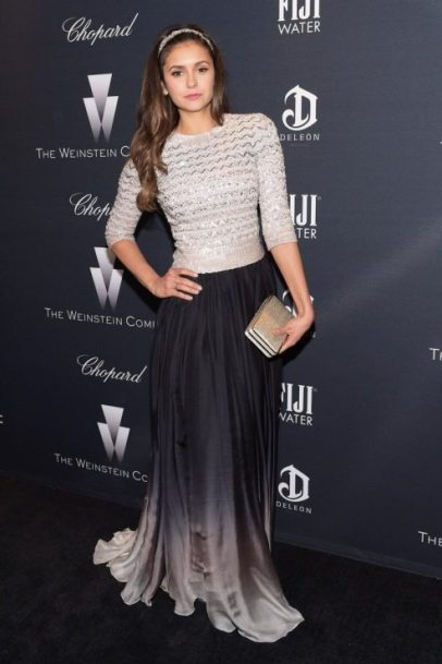 Nina Dobrev The Weinstein Company's Academy Awards Nominees Dinner 2