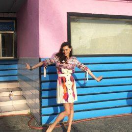 Phoebe Tonkin ELLE Australia BTS 5