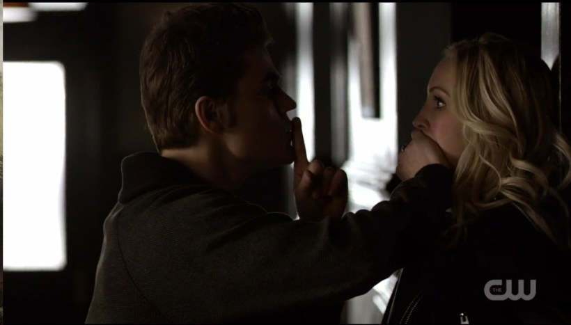The Vampire Diaries 6x17 Steroline 1