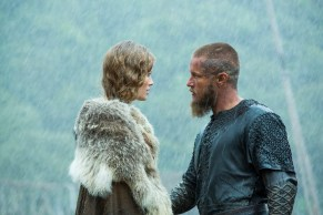 Vikings 3x05 Queen Aslaug and King Ragnar