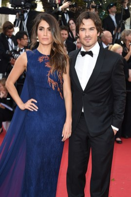 Cannes Film Featival Ian Somerhalder and Nikki Reed 1
