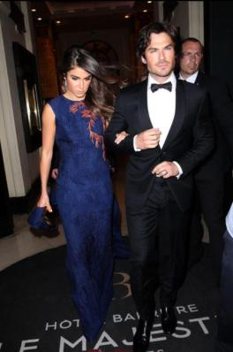 Cannes Film Featival Ian Somerhalder and Nikki Reed 9
