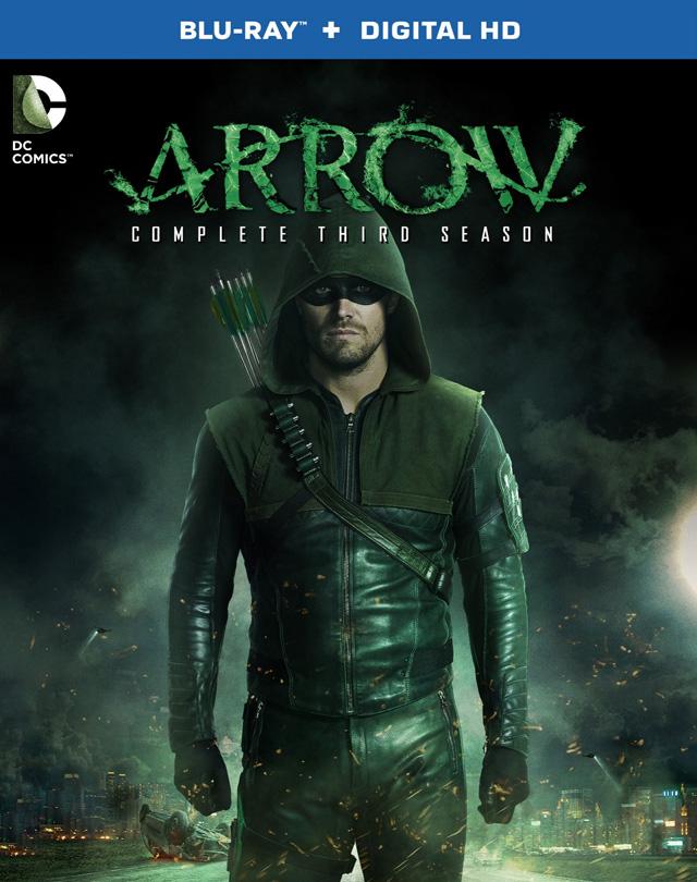 Arrow season 3 DVD