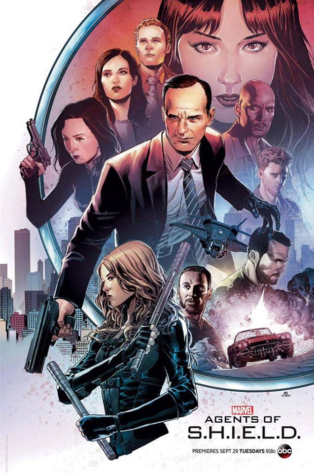 MARVEL's Agents of SHIELD Comic Con Poster